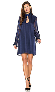 Платье the 70s ruffle sleeve - LAcademie