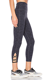 Spacedye high waist interlooped capri - Beyond Yoga