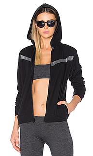 Sport remy contrast zip up hoodie - Lanston