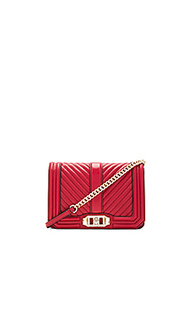 Chevron quilted small love bag - Rebecca Minkoff