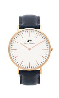 Часы classic somerset 40mm - Daniel Wellington