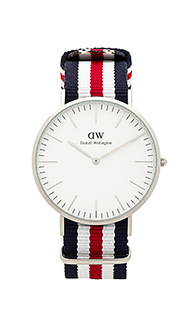 Часы classic canterbury 40mm - Daniel Wellington
