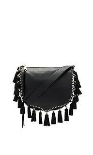 Large multi tassel saddle bag - Rebecca Minkoff