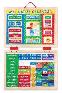 Магнитный календарь Melissa & Doug