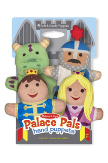 Плюшевые куклы на руку Melissa & Doug