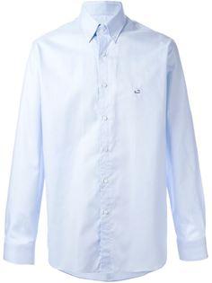 рубашка с вышивкой логотипа Etro