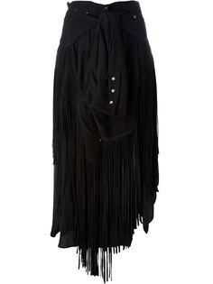 юбка с бахромой Faith Connexion