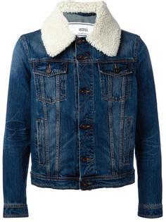 джинсовая куртка с овечьей шерстью Ami Alexandre Mattiussi