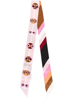 шейный платок с принтом 'Fendi Monsters' Fendi