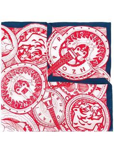 шарф с принтом 'Paris' Kenzo