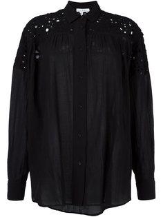 рубашка с кружевными вставками Iro