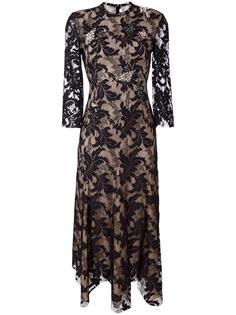 кружевное платье Francesco Scognamiglio
