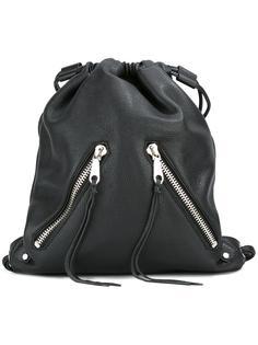moto drawstring backpack  Rebecca Minkoff