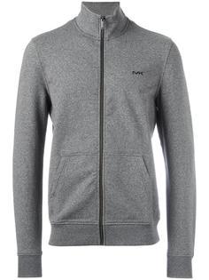front pockets zipped sweatshirt Michael Kors