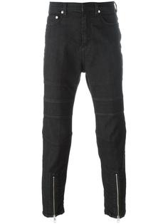 байкерские джинсы кроя скинни Neil Barrett