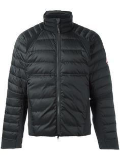 дутая куртка с нашивкой-логотипом Canada Goose