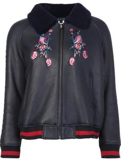 embroidered bomber jacket Jocelyn