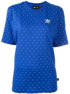 футболка с принтом 'PW HU'  Adidas