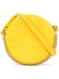 сумка на плечо с отделкой из кольчуги Paco Rabanne