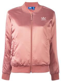 атласная спортивная куртка  Adidas