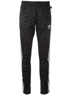 спортивные брюки с принтом 'Hu Race' Adidas