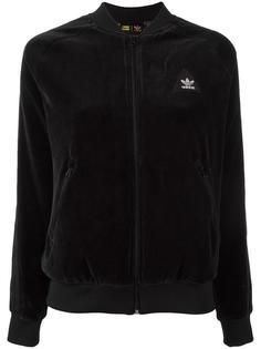 велюровая спортивная куртка 'HU SST'  Adidas