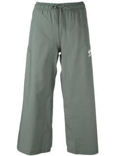 укороченные широкие брюки  Adidas