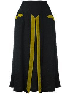 фактурная юбка длины миди Marco De Vincenzo