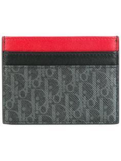 кошелек для карточек с узором из монограмм Dior Homme