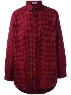 клетчатая рубашка Dior Homme