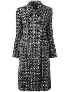 твидовое пальто длины миди Dolce & Gabbana