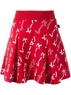 юбка с узором 'Hu Race'  Adidas