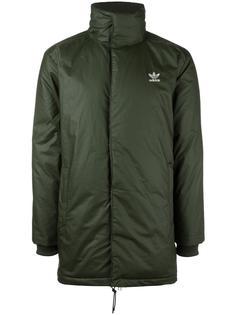 стеганое пальто средней длины Adidas