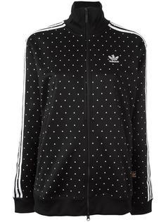 спортивная куртка с принтом 'Hu Race'  Adidas