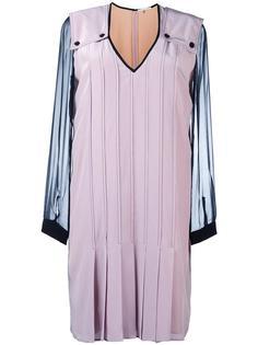 платье с V-образным вырезом Marco De Vincenzo