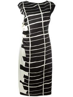 полосатое платье Jil Sander
