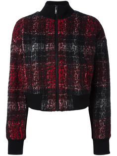 клетчатая куртка-бомбер 'Rose' DKNY