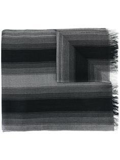 полосатый шарф Dior Homme