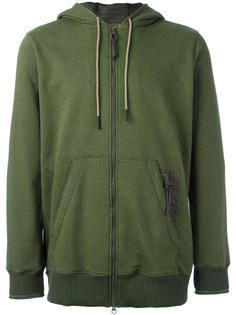 classic zip fastening hoodie Adidas