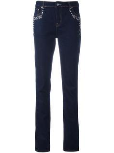 джинсы с люверсами Sonia By Sonia Rykiel