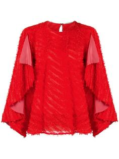 фактурная блузка Marco De Vincenzo