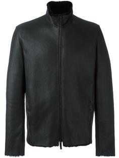 куртка на молнии с высоким воротником Giorgio Armani