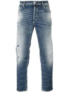 джинсы с потертой отделкой Dondup
