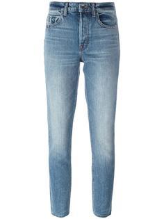 укороченные узкие джинсы Helmut Lang