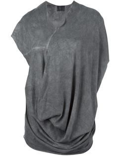 драпированная футболка  Lost & Found Ria Dunn