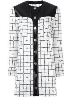 grid print dress Courrèges