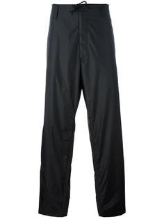 брюки свободного кроя на завязках Yohji Yamamoto
