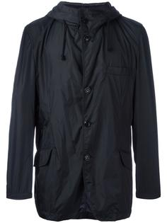 куртка на пуговицах с капюшоном Yohji Yamamoto