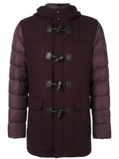 hooded duffle coat Herno