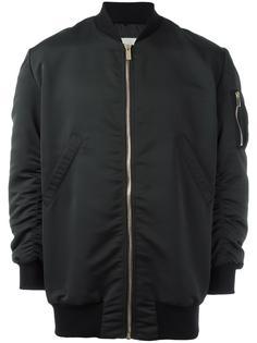 куртка-бомбер с тисненым логотипом Amen